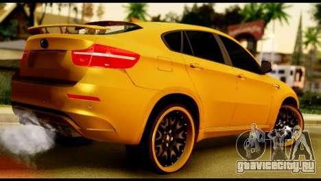 BMW X6 Hamann для GTA San Andreas вид слева