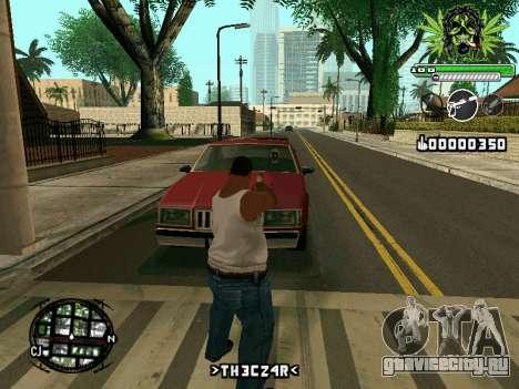C-HUD Marihaus для GTA San Andreas третий скриншот