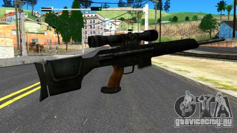 Sniper Rifle from GTA 4 для GTA San Andreas второй скриншот