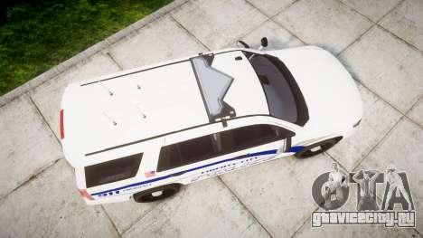 Chevrolet Tahoe 2015 LCPD [ELS] для GTA 4 вид справа