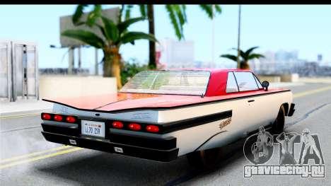 GTA 4 Voodoo для GTA San Andreas вид слева