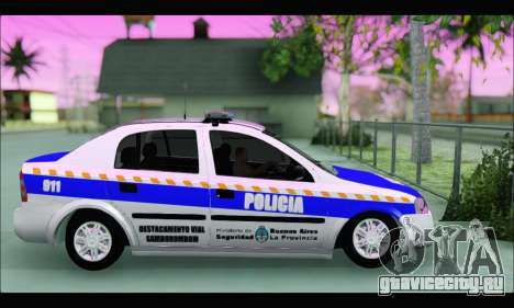Chevrolet Astra Policia Vial Bonaerense для GTA San Andreas вид слева