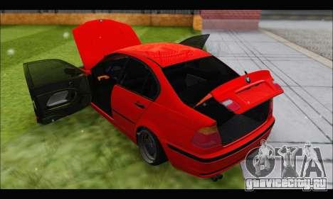 BMW e46 Sedan V2 для GTA San Andreas вид сбоку