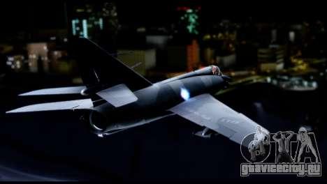 Dassault Etendard IV MF для GTA San Andreas вид слева
