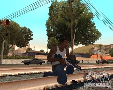 Новогодний weapon pack v2 для GTA San Andreas второй скриншот