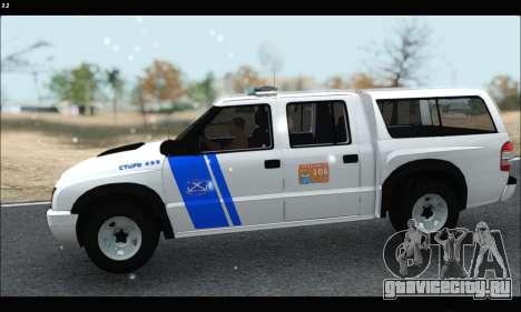 Chevrolet S-10 P.N.A для GTA San Andreas вид слева