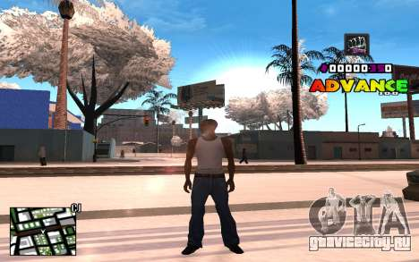 C-HUD Advance RP для GTA San Andreas