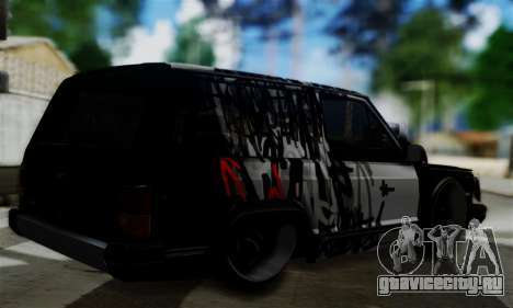 Jeep Mini-Truck для GTA San Andreas вид слева