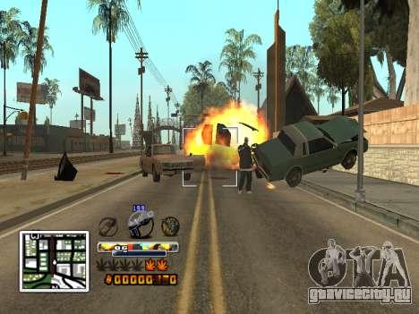 C-HUD Color (улучшение) для GTA San Andreas пятый скриншот