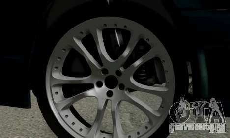Mercedes-Benz W124 BRABUS V12 для GTA San Andreas вид сзади