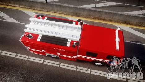 Mercedes-Benz Atego Indonesian Fire Truck [ELS] для GTA 4 вид справа