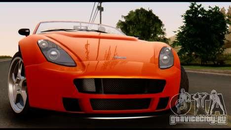 GTA 5 Dewbauchee Rapid GT Cabrio [IVF] для GTA San Andreas вид справа