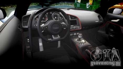 Audi R8 competition 2015 [EPM] для GTA 4 вид сбоку