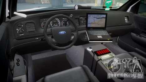 Ford Crown Victoria Martin County Sheriff [ELS] для GTA 4 вид сзади