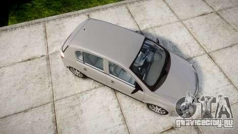 Vauxhall Astra 2009 Police [ELS] Unmarked для GTA 4 вид справа