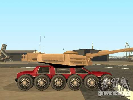 Tink Tank для GTA San Andreas вид сзади