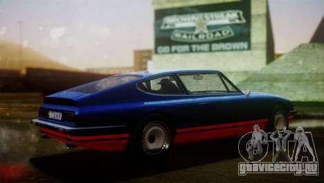 GTA 5 Lampadati Pigalle для GTA San Andreas вид сзади слева