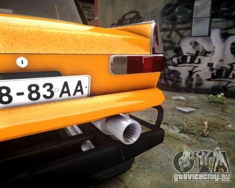 Москвич 412 Монстер для GTA 4 вид изнутри