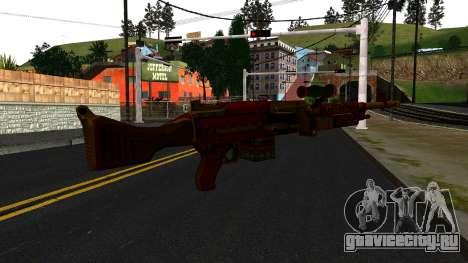 Новогодний Миниган для GTA San Andreas второй скриншот