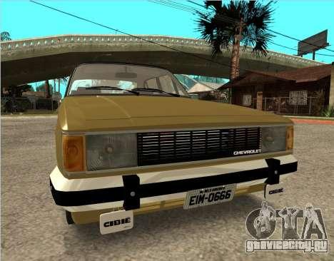 Chevrolet Opala 1980 для GTA San Andreas вид справа