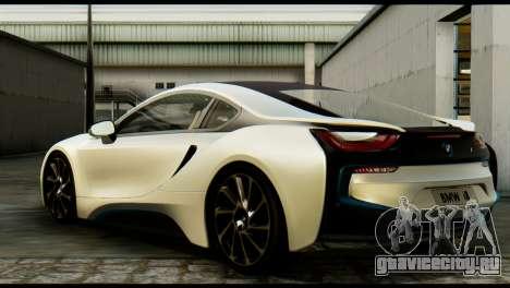 BMW I8 2013 для GTA San Andreas вид слева