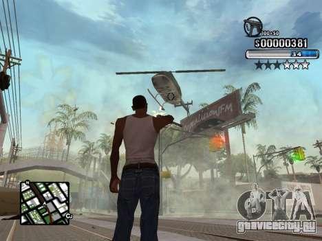 C-HUD New Style для GTA San Andreas