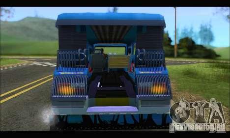 Jeepney Morales для GTA San Andreas вид справа
