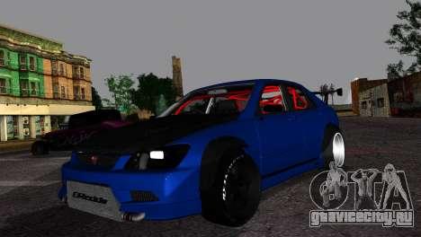 Toyota Altezza DC Hunter для GTA San Andreas