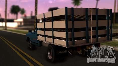 Chevrolet C30 для GTA San Andreas вид слева