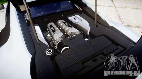 Audi R8 competition 2015 [EPM] для GTA 4 вид изнутри