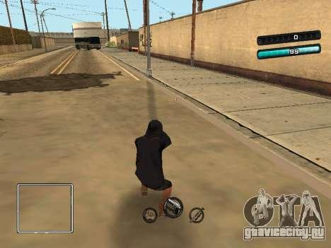 C-HUD Azure для GTA San Andreas третий скриншот