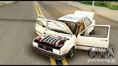 Volkswagen Jetta A2 Coupe для GTA San Andreas вид справа