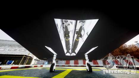 Lockheed F-117 Nighthawk для GTA 4 вид справа