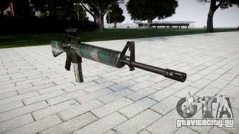 Винтовка M16A2 [optical] warsaw для GTA 4