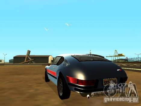 Volkswagen SP2 Original для GTA San Andreas вид слева