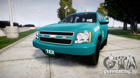 Chevrolet Tahoe 2013 Game Warden [ELS] для GTA 4