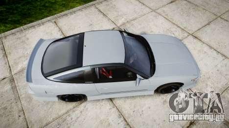 Nissan 240SX Sil80 для GTA 4 вид справа