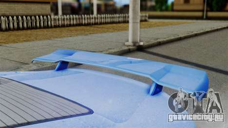 GTA 5 Dewbauchee Massacro Racecar для GTA San Andreas вид справа