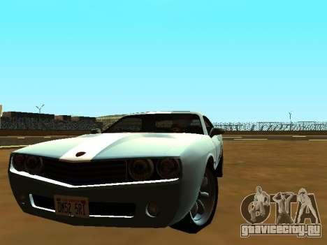 GTA 5 Bravado Gauntlet для GTA San Andreas вид слева