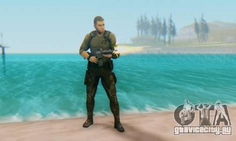 Sam Fisher - Paladin Outfit (Splinter Cell Black для GTA San Andreas второй скриншот