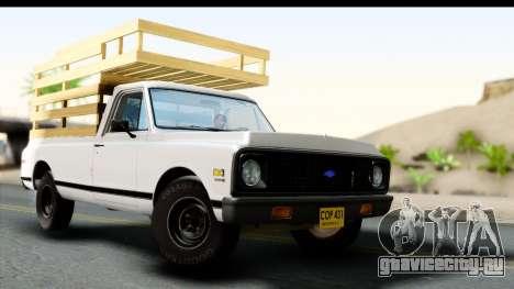 Chevrolet C10 1972 для GTA San Andreas