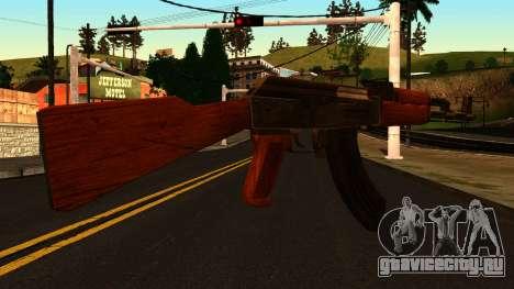 AK47 from GTA 4 для GTA San Andreas второй скриншот