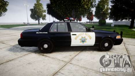 Ford Crown Victoria Highway Patrol [ELS] Vision для GTA 4 вид слева