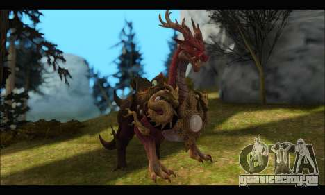 Kirin Dragon (TERA Online) для GTA San Andreas