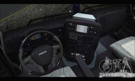 Iveco Trakker 2014 Tipper Snow (IVF & ADD) для GTA San Andreas вид справа