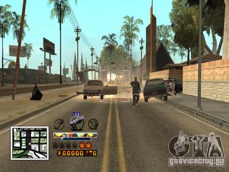 C-HUD Color (улучшение) для GTA San Andreas четвёртый скриншот