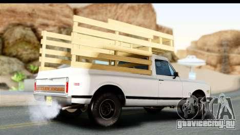 Chevrolet C10 1972 для GTA San Andreas вид слева