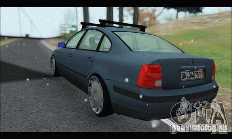 VW Passat для GTA San Andreas вид справа