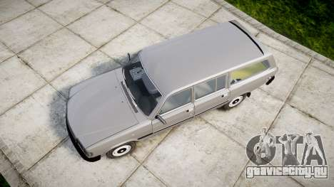 ГАЗ 31022 rims2 для GTA 4 вид справа