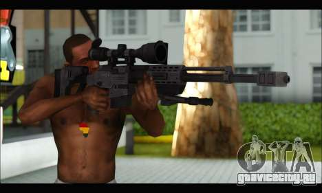 Raab KM50 Sniper Rifle From F.E.A.R. 2 для GTA San Andreas третий скриншот